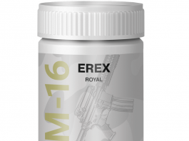Erex M16 τελευταίες πληροφορίες το 2018, κριτικές - φόρουμ, σχόλια, royal, capsule, συστατικα - πού να αγοράσετε; Ελλάδα - παραγγελια