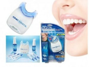Ionic White tooth whitening system - how to use;